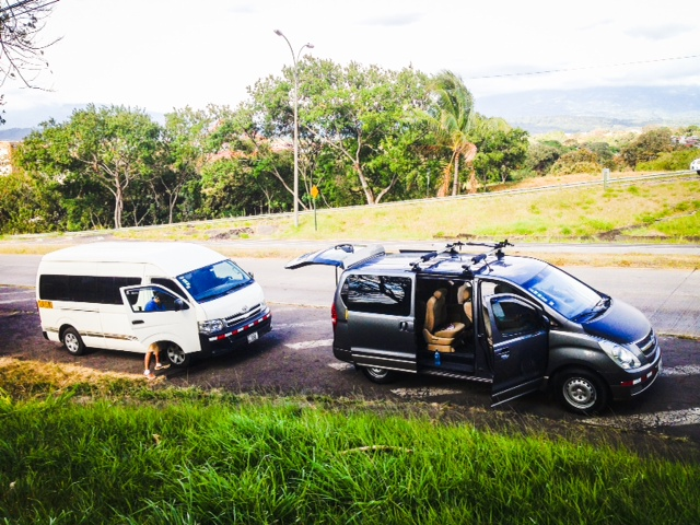 Jaco Beach shuttle service